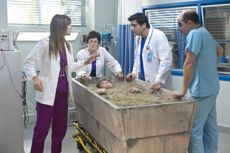 Childrens Hospital : Photo Ken Marino, Lake Bell, Megan Mullally, Rob Corddry