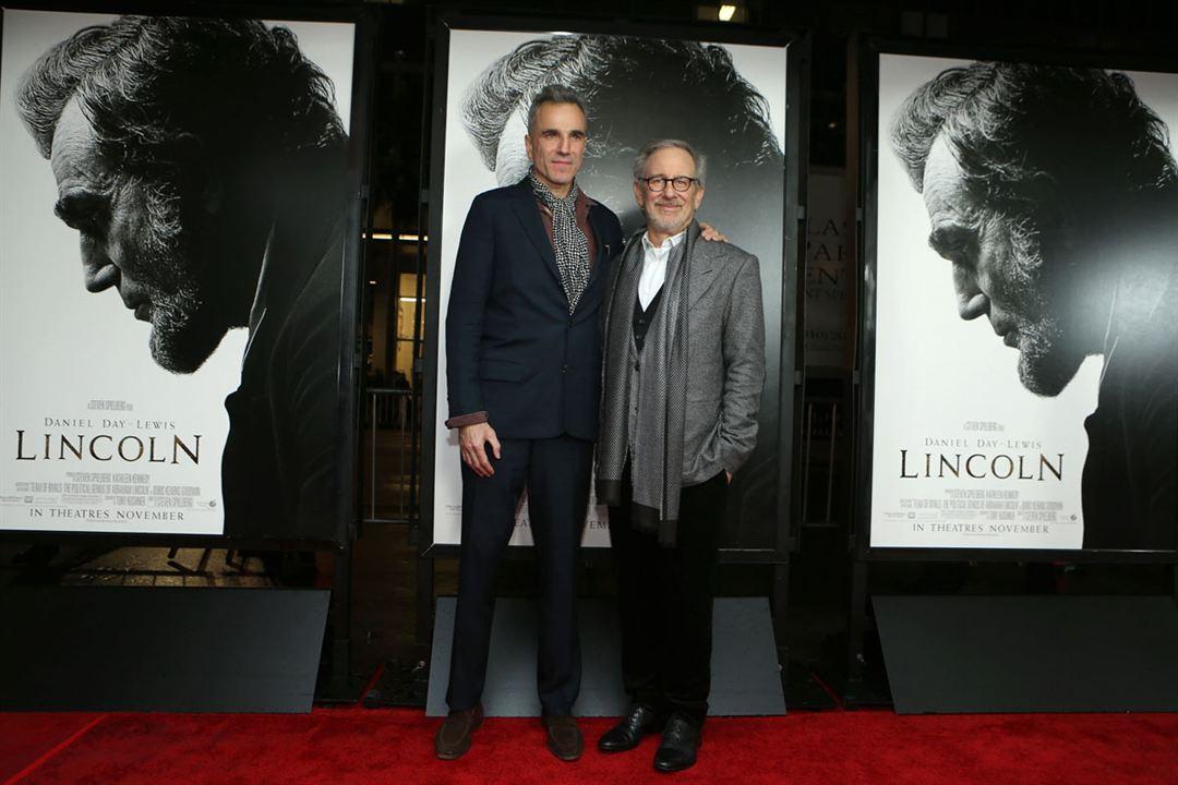 Lincoln : Photo promotionnelle Daniel Day-Lewis, Steven Spielberg