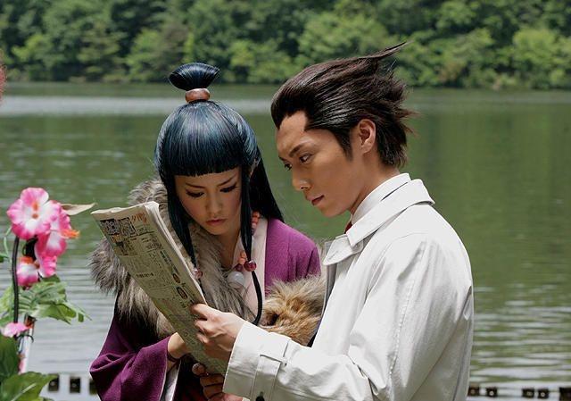 Gyakuten saiban : Photo Hiroki Narimiya, Mirei Kiritani