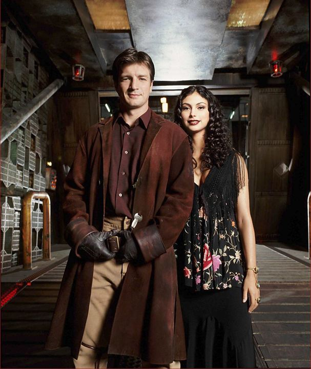 Firefly : Photo Morena Baccarin, Nathan Fillion