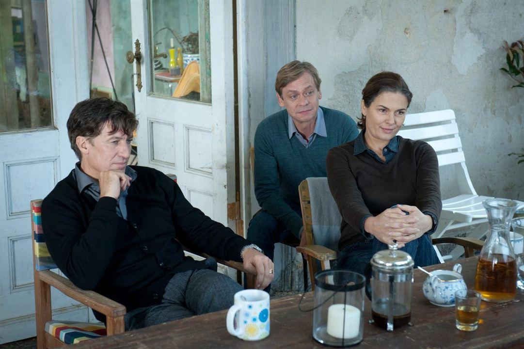 Photo Barbara Auer, Sylvester Groth, Tobias Moretti