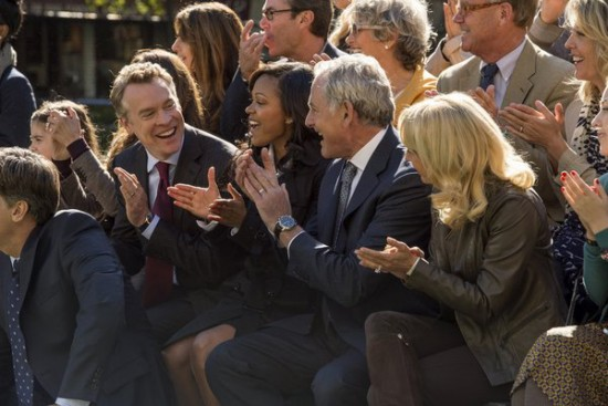 Photo Meagan Good, Tate Donovan, Victor Garber