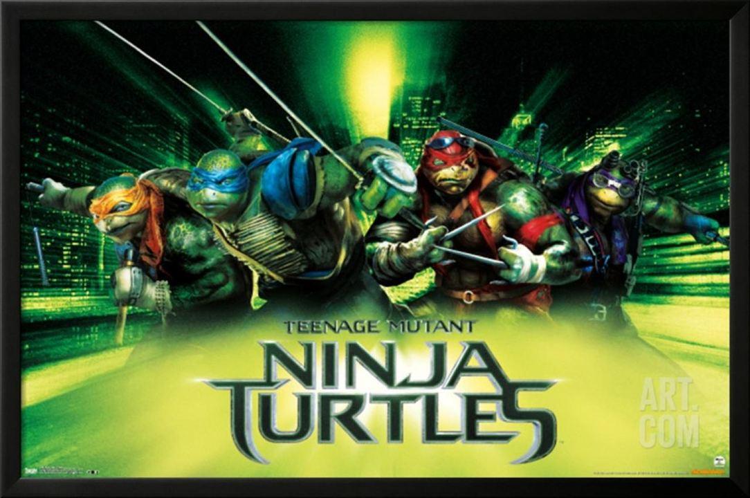 Ninja turtles une premi re affiche pour le m chant - Mechant tortue ninja ...
