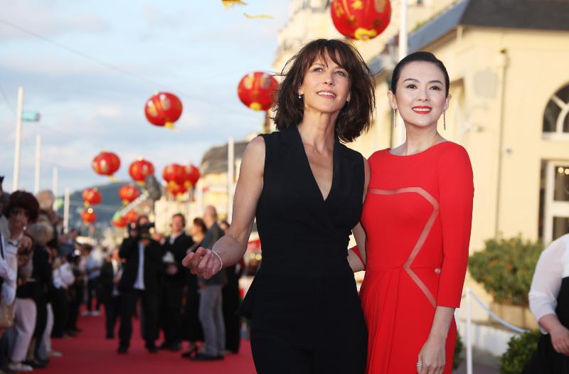 Sophie Marceau & Zhang Ziyi