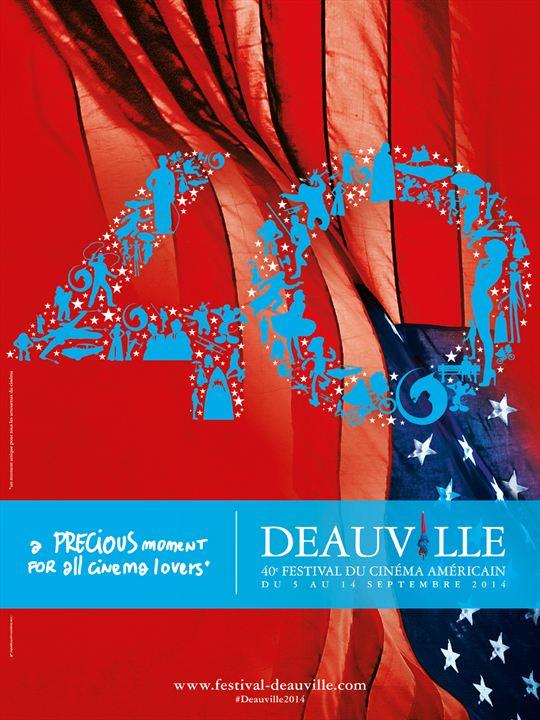 L'affiche officielle du 40ème Festival de Deauville