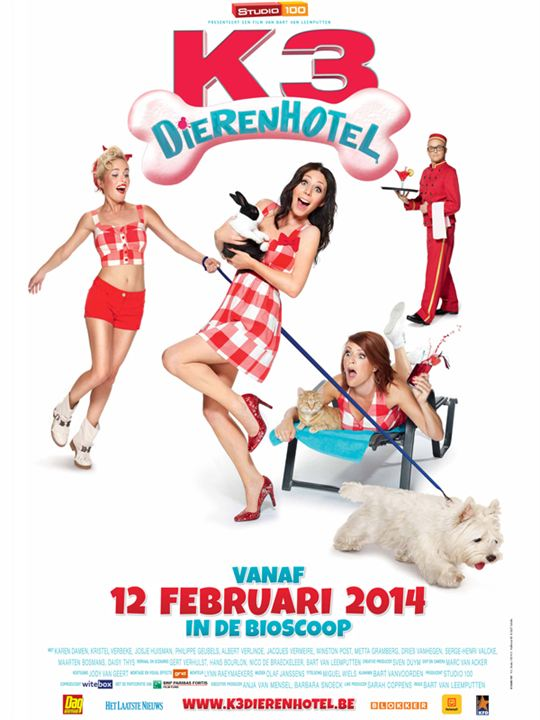 K3 DIERENHOTEL: Plus gros succès du cinéma belge en 2014
