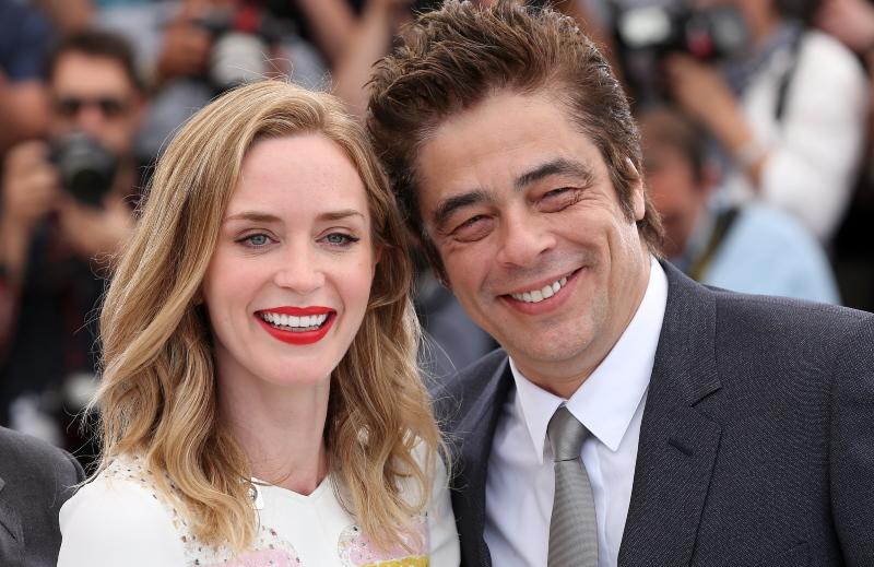 Emily Blunt et Benicio del Toro