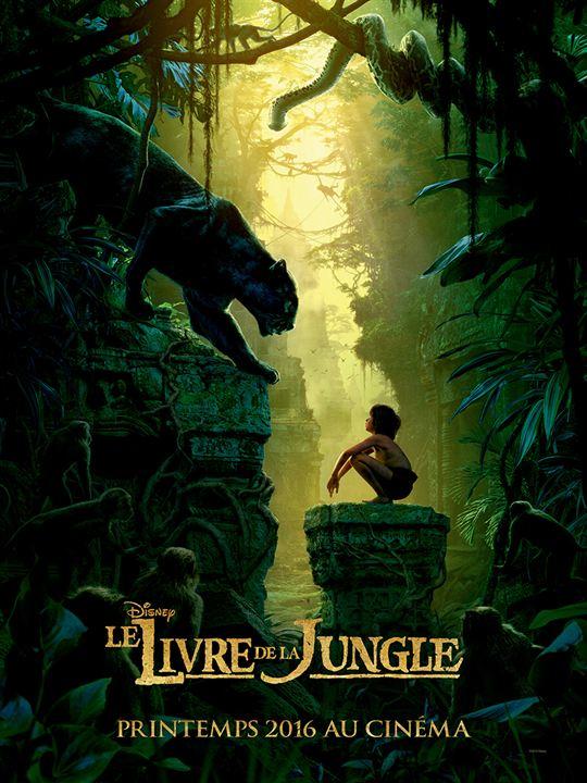Le Livre De La Jungle Mowgli Et Bagheera Face à Face Sur