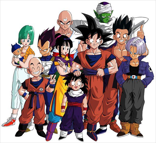 3- Dragon Ball Z