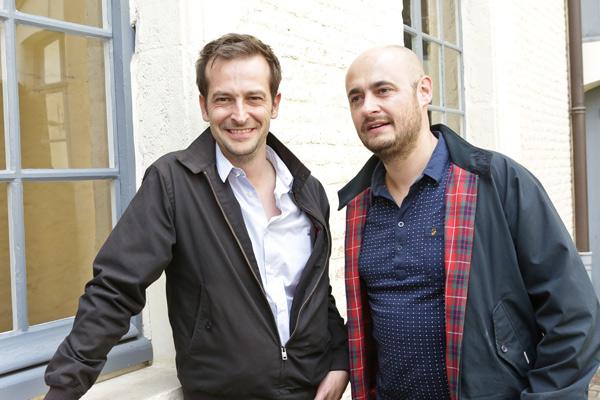 Bruno Lavaine et Nicolas Charlet