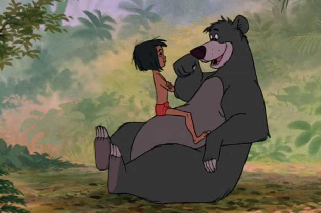 Mowgli et Baloo (Le Livre de la Jungle)