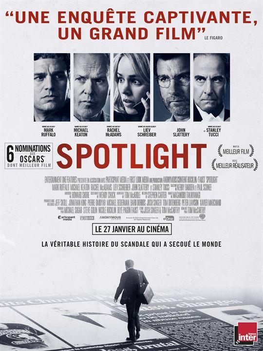 Spotlight - Oscar du meilleur film
