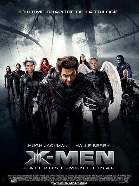 Numéro 3 : X-Men l'affrontement final - 459,35 millions de dollars de recettes dans le monde