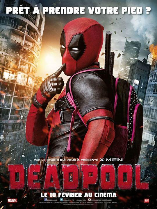 Numéro 1 : Deadpool - 754,45 millions de dollars de recettes dans le monde