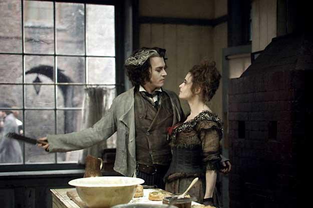 """""""Sweeney Todd"""" de Tim Burton"""