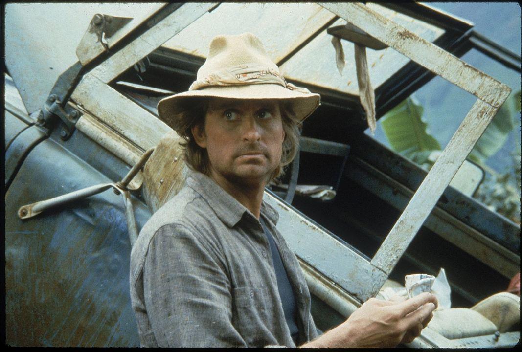 """Jack Colton dans """"A la poursuite du diamant vert"""" (1984)"""