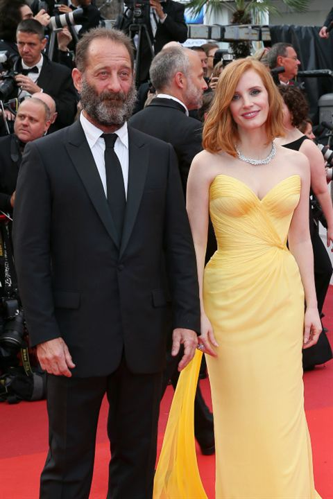 Vincent Lindon et Jessica Chastain