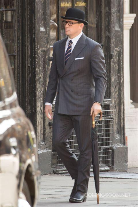 """Channing Tatum sur le tournage de """"Kingsman 2"""""""