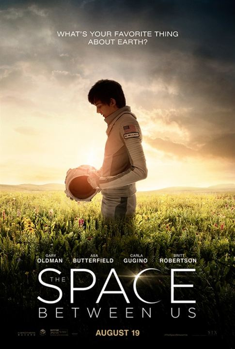 The Space Between Us - Sortie le 21 septembre 2016