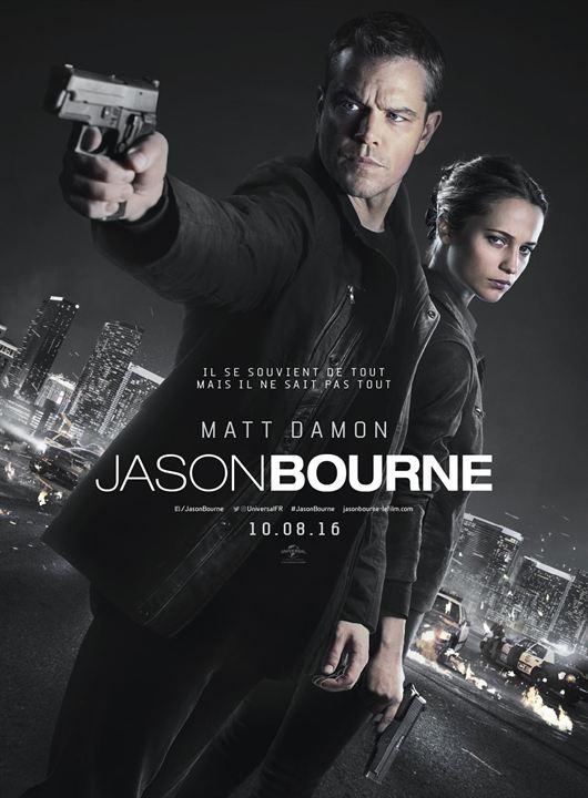 Jason Bourne - Sortie le 10 août 2016
