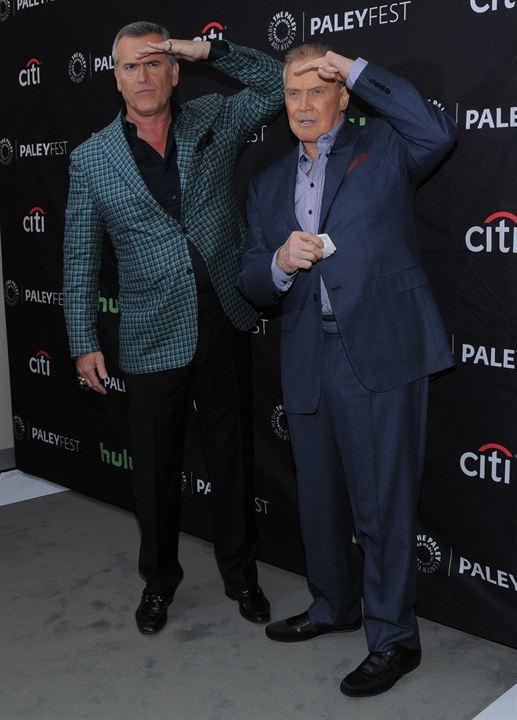 Bruce Campbell et Lee Majors en 2016 à Beverly Hills