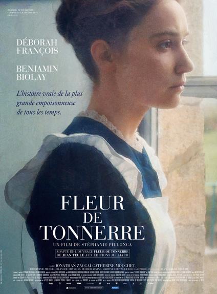 """""""Fleur de Tonnerre"""" avec Déborah François - Sortie le 18 janvier 2017"""
