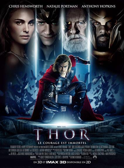 N°4 - Thor (2011) : 449 326 618 $