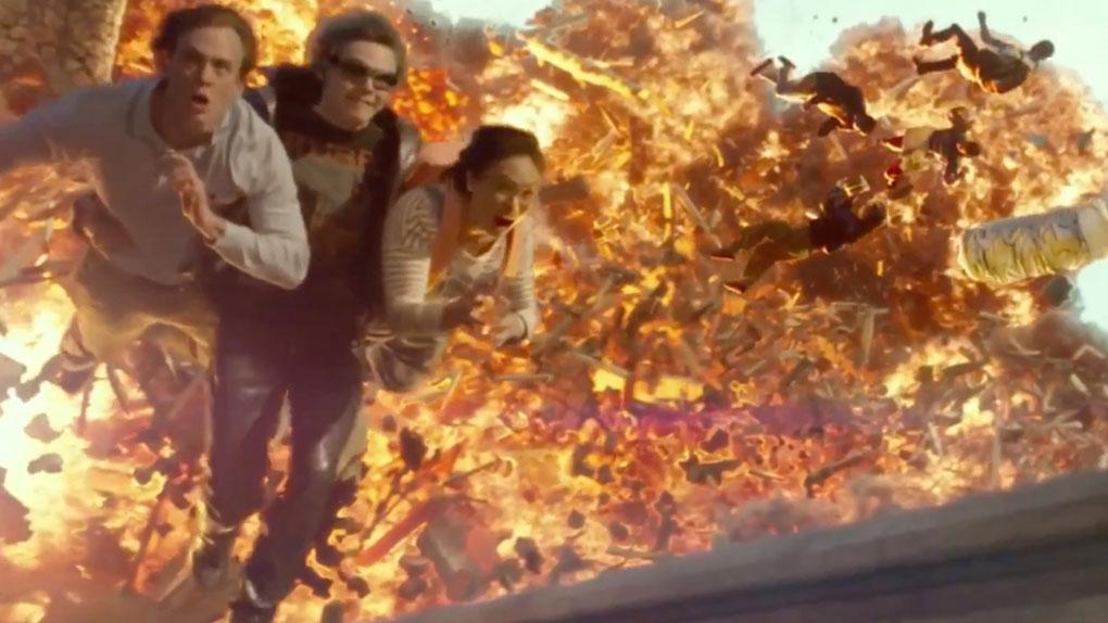 Le sauvetage de l'année : Quicksilver dans X-Men Apocalypse