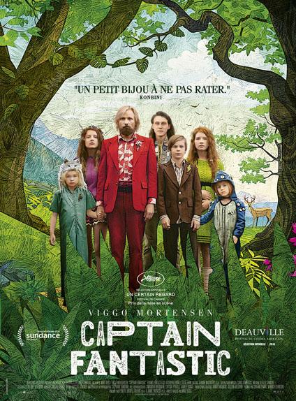 8ème : Captain Fantastic - 4.349/5