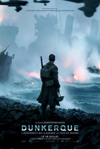 Dunkerque de Christopher Nolan - Sortie le 19 juillet 2017