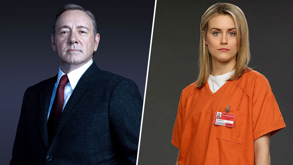 1. Les classiques Netflix : House of Cards, Orange Is the New Black, Narcos