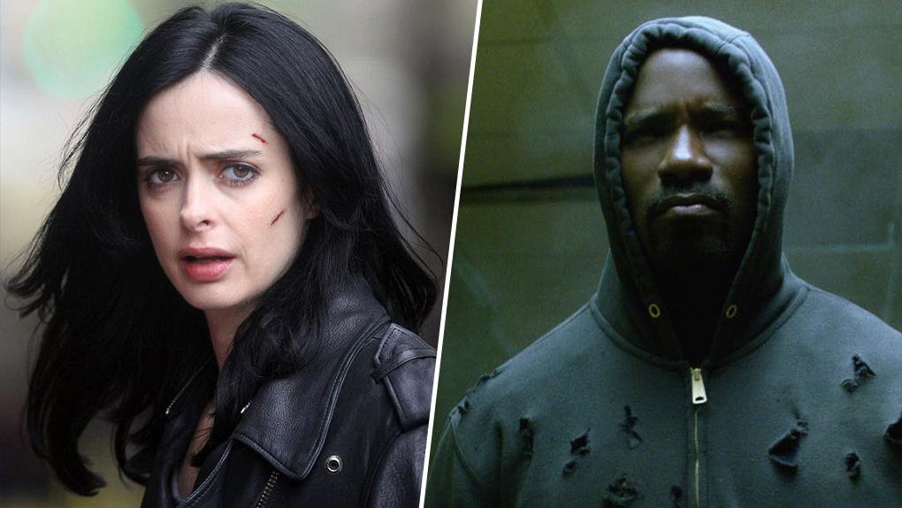 2. Les séries Marvel : Daredevil, Jessica Jones, Luke Cage