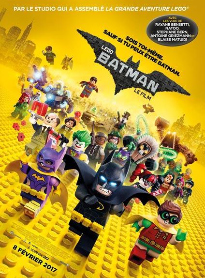 N°5 - Lego Batman, Le Film : 346 187 entrées