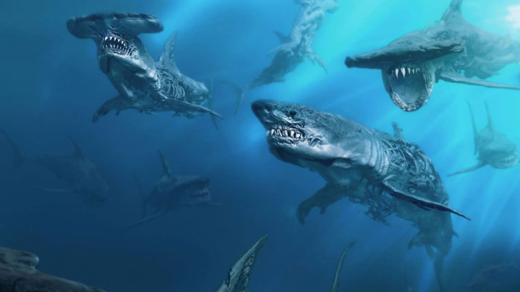 Les requins zombies