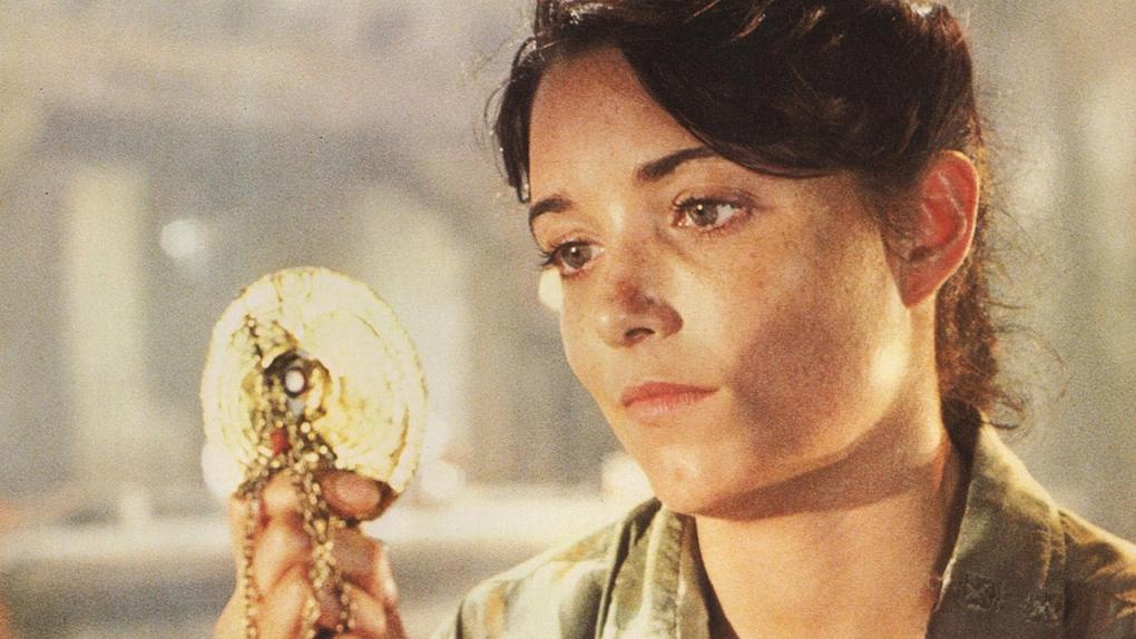 """Karen Allen alias """"Marion"""", dans Les Aventuriers de l'Arche perdue (1981)"""