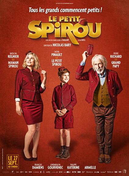 """""""Le Petit Spirou"""" [EXCLU] avec Sacha Pinault, Natacha Régnier et Pierre Richard"""