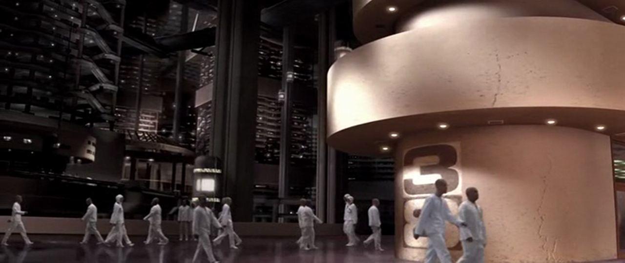 """La ville souterraine de """"THX 1138"""" (1971)"""