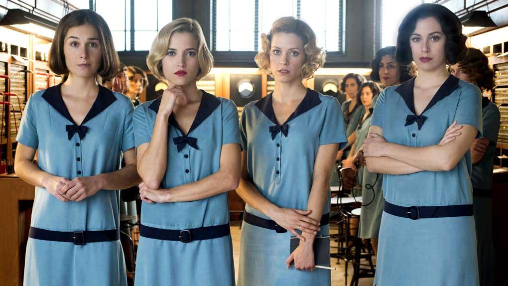 Las Chicas Del Cable : saison 1 le 28 avril