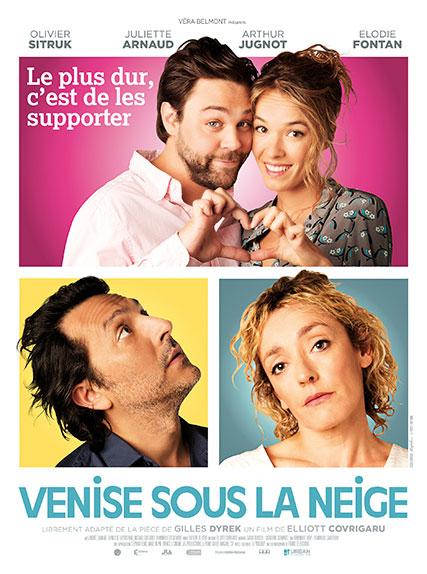 """""""Venise sous la neige"""" avec Élodie Fontan, Olivier Sitruk, Juliette Arnaud ..."""