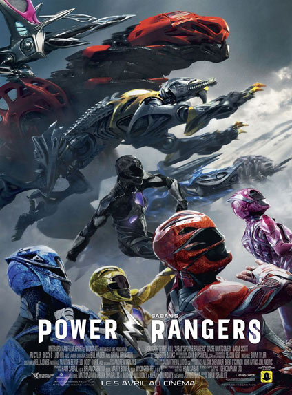 N°5 - Power Rangers : 262 004 entrées