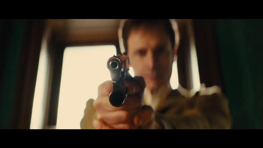 Qui est de l'autre côté de cette arme ?