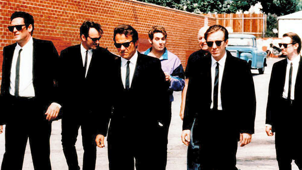 Mr. White, Mr. Orange, Mr. Blonde,... (Reservoir Dogs)