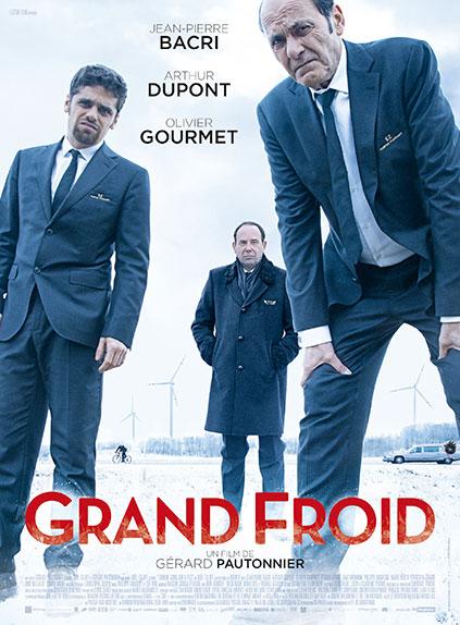 """Grand froid"" avec Jean-Pierre Bacri, Olivier Gourmet, Arthur Dupont ..."
