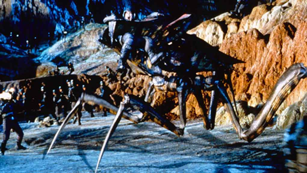 Les Arachnides dans Starship Troopers