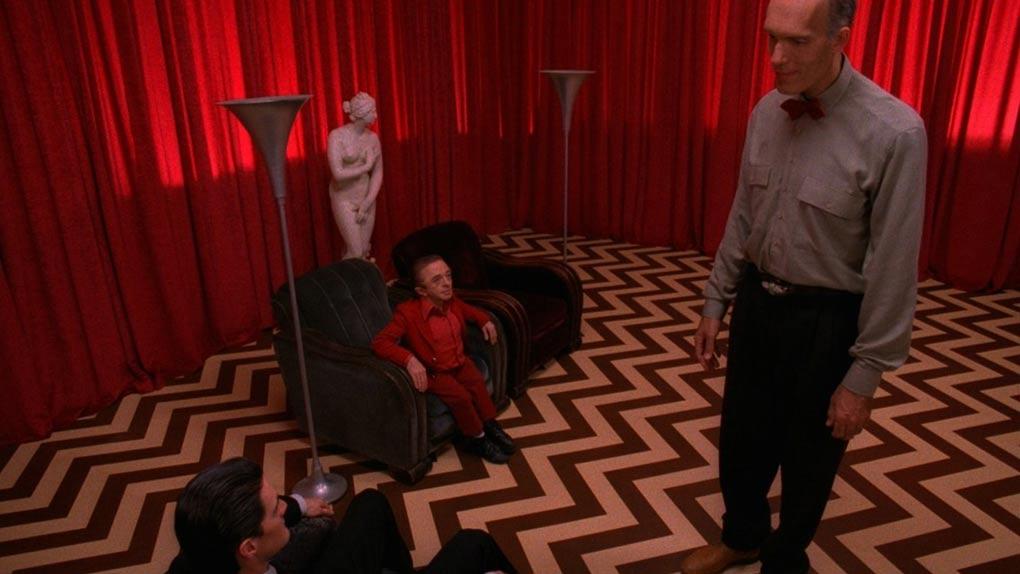 Cooper, le Nain et le Géant dans la Black Lodge