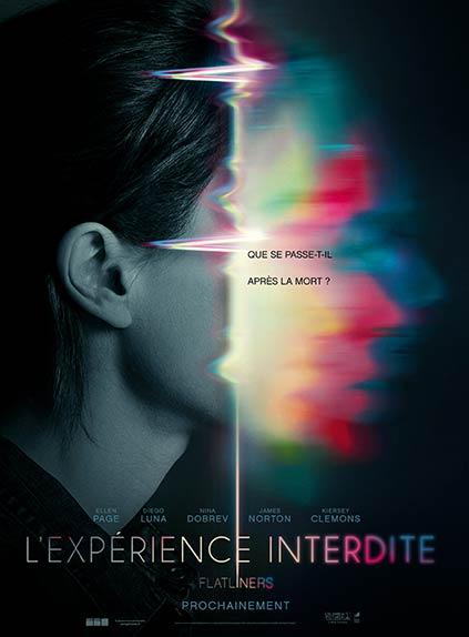"""L'Expérience interdite - Flatliners"" avec Ellen Page, Diego Luna, Nina Dobrev ..."