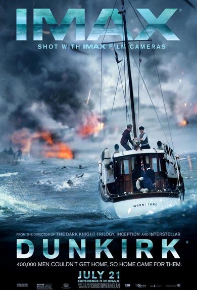 L'affiche IMAX de Dunkerque