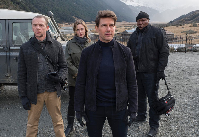 """Mission Impossible 6"" avec Tom Cruise, Rebecca Ferguson, Vanessa Kirby ..."