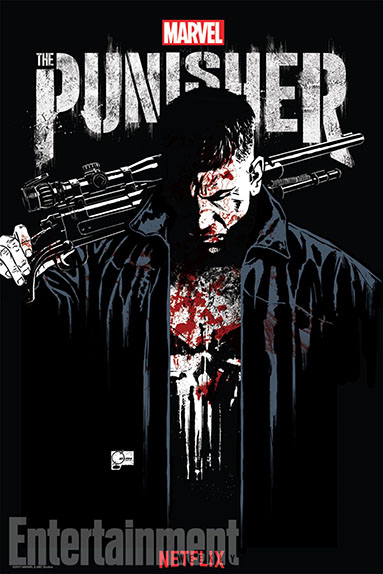 "L'affiche Comic-Con 2017 de ""Marvel's The Punisher"""