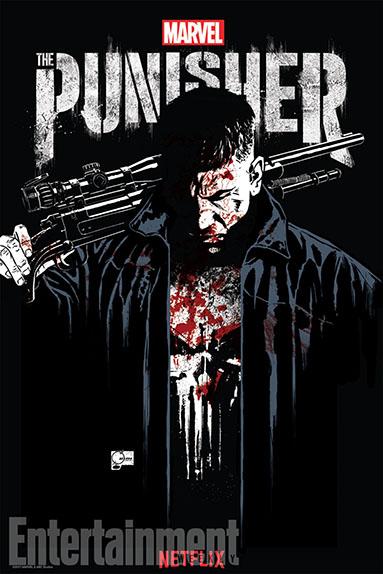 """L'affiche Comic-Con 2017 de """"Marvel's The Punisher"""""""